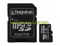 Карта памяти Kingston 64GB microSD class 10 USH-I (SDCIT/64GB) для компьютера