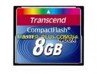 Карта памяти Transcend 8Gb Compact Flash 400x (TS8GCF400) для компьютера