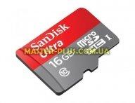 Карта памяти SANDISK 16GB microSDHC Class 10 UHS-I (SDSQUNC-016G-GN6IA)