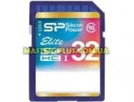 Карта памяти Silicon Power 16Gb SDHC class 10 UHS-I Elite (SP016GBSDHAU1V10)