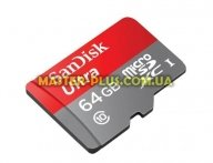 Карта памяти SANDISK 64GB microSD class10 UHS-I (SDSQUNC-064G-GN6MA)