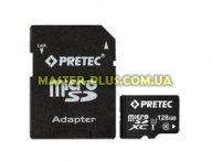 Карта памяти Pretec 128GB microSDXC class 10 UHS-I (STSX128G-SA)