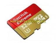 Карта памяти SANDISK 32GB microSDHC Class 10 UHS-I U3 (SDSDQXN-032G-G46A)