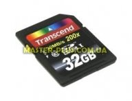 Карта памяти 32Gb SDHC class 10 Transcend (TS32GSDHC10)