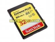 Карта памяти SANDISK 32GB SDHC class 10 V30 UHS-I U3 4K Extreme (SDSDXWF-032G-GNCIN)