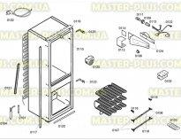 Видео: Комплект петель для холодильника Siemens BOSH 481147