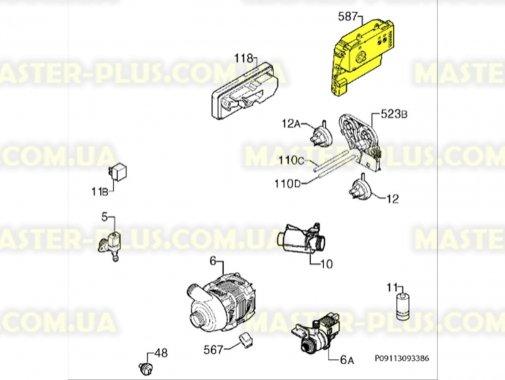 Модуль (плата управления) Electrolux 1113314338