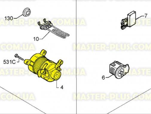 Мотор Electrolux Zanussi AEG 1240548162 для стиральной машины