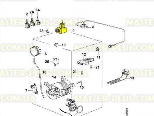 Программатор (селектор программ) Zanussi  1249214147 для стиральной машины