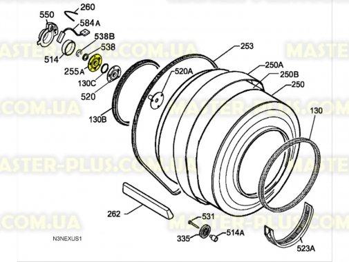 Купить Задняя опора Electrolux 1250134135
