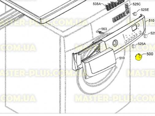 Ручка выбора программ Zanussi 1260690001 для стиральной машины