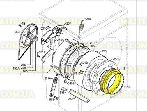 Гума (манжет) люка Electrolux 1321187112 для пральної машини