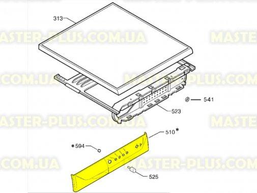 Купить Панель управления (передний пластик) Electrolux 1322540103