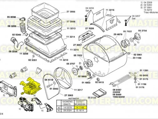 Мотор Bosch Siemens 141148 для стиральной машины