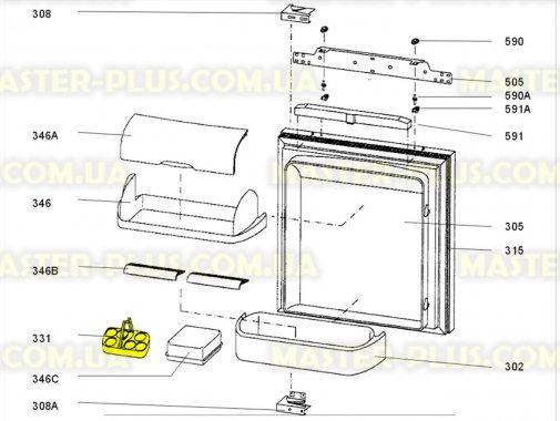 Полка для яиц Electrolux 2231072014 для холодильника