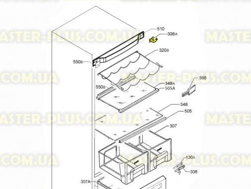Купить Завес (петля) верхняя левая Electrolux 2426834038