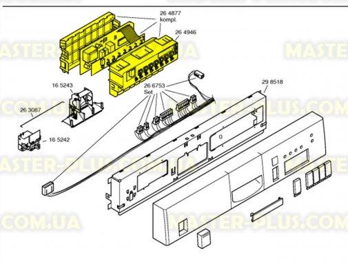 Модуль (плата) управління в зборі Bosch Siemens 264877 для посудомийної машини