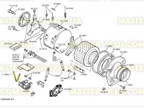 Ремень 1341 J4 Bosch для стиральной машины