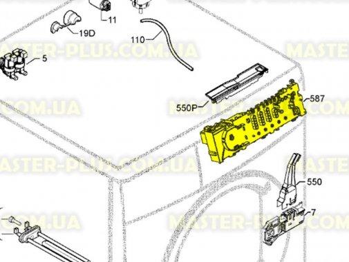 Модуль (плата) Zanussi 3792681532 для стиральной машины