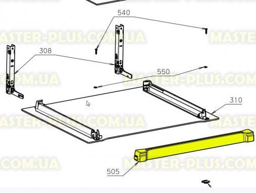 Купить Верхняя пластиковая планка между стеклами духовки Electrolux 3870683202