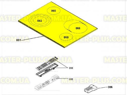 Варочная поверхность Electrolux 3878911118