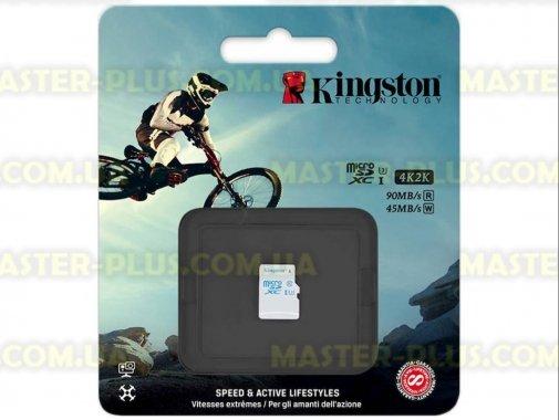 Купить Карта памяти Kingston 64GB microSD class 10 UHS-I U3 (SDCAC/64GBSP)