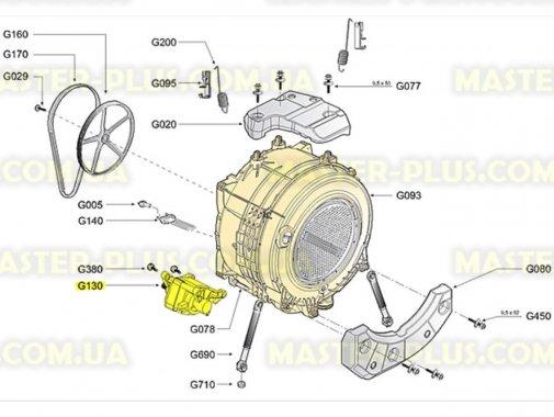 Мотор Whirlpool 480111101223 для стиральной машины