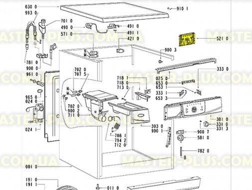 Модуль (плата) Whirlpool 481221470092 для стиральной машины