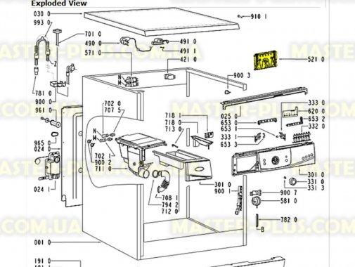 Модуль (плата) Whirlpool 481228210206 для стиральной машины