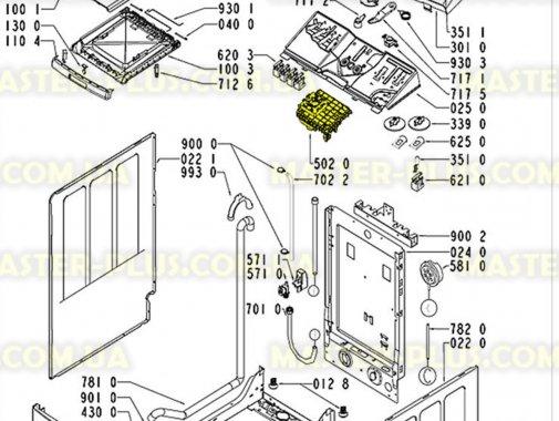 Модуль (плата) управления Whirlpool 481228219609 для стиральной машины