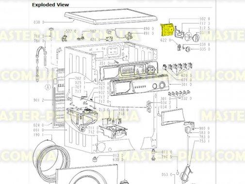 Программатор (селектор программ) Whirlpool  481228219743 для стиральной машины