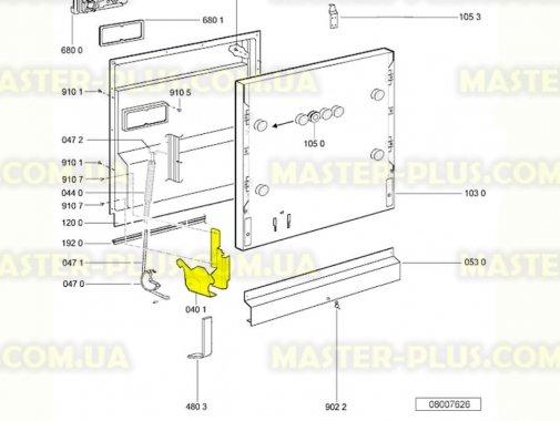 Купить Завес двери (комплект) посудомоечной машины Whirlpool 481231018966
