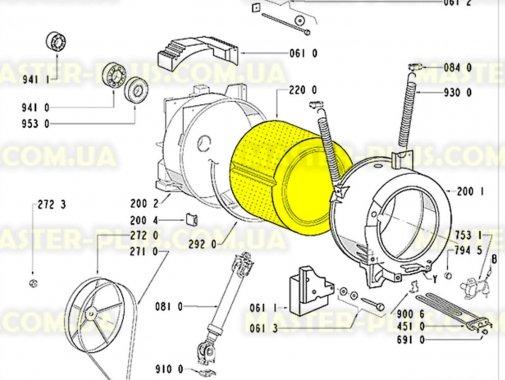 Барабан Whirlpool 481241818623 для стиральной машины
