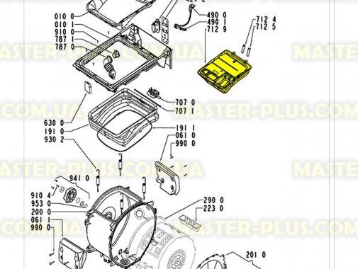 Бункер (дозатор) порошкоприемника Whirlpool  481241868359 для стиральной машины
