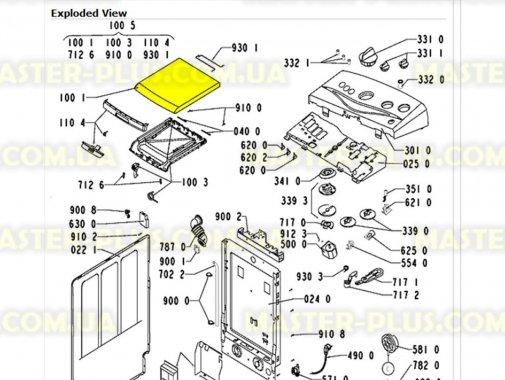Дверка (люк) Whirlpool 481244019489 для стиральной машины