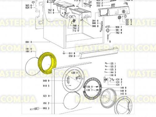 Резина (манжет) люка Whirlpool 481246068617 Original для стиральной машины