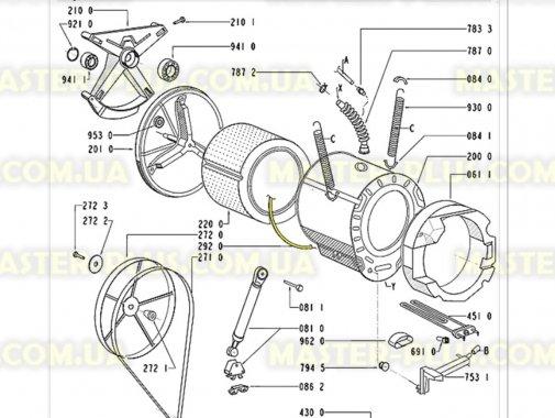 Уплотнительная резина бака Whirlpool 481253058003 для стиральной машины