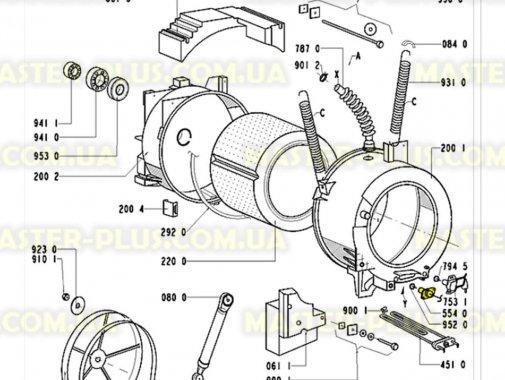 Термостат (датчик температуры) газовый Whirlpool 481928248313 Original для стиральной машины