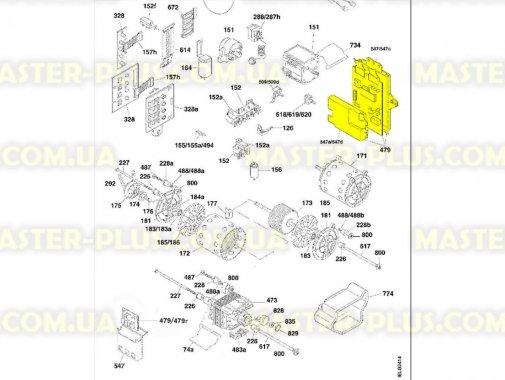 Модуль (плата) Candy 49006360 для стиральной машины