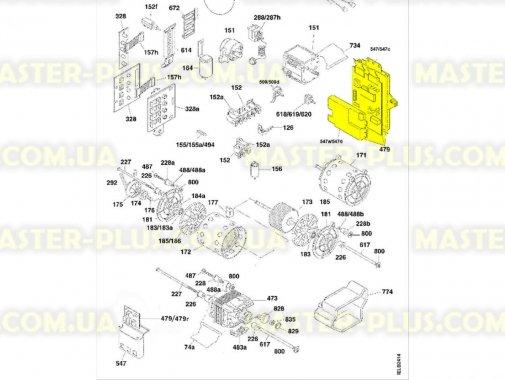 Модуль (плата) Candy 49009944 для пральної машини