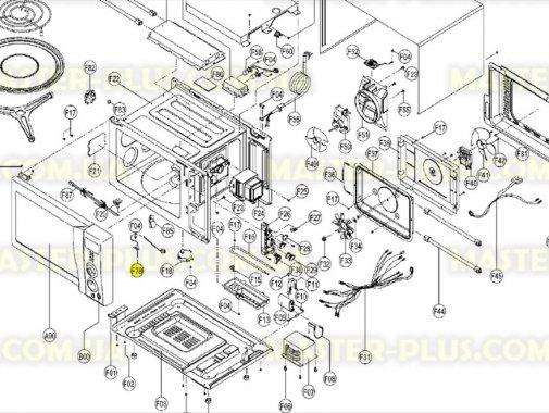 Датчик температури для мікрохвильової печі AEG 50273970009 для мікрохвильової печі