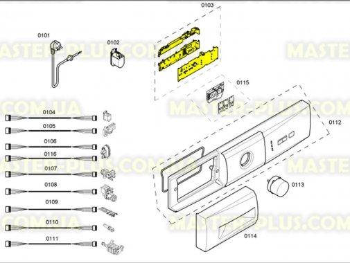 Модуль (плата) Bosch 640630 для стиральной машины