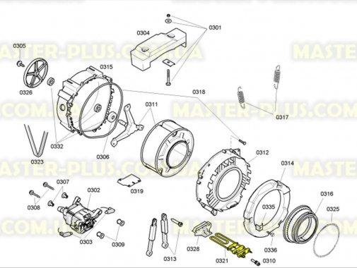 ТЭН Bosch 643463 Original для стиральной машины