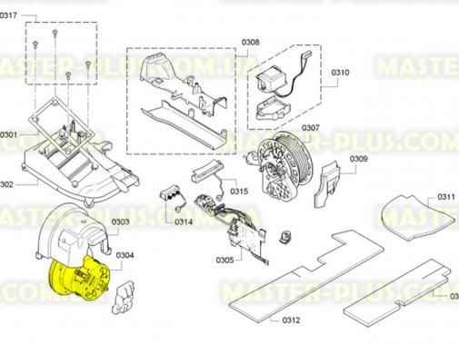 Мотор Bosch Siemens 650525