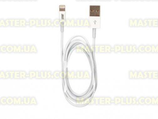 Дата кабель JUST Simple Lighting USB Cable White 1M (LGTNG-SMP10-WHT)  - купить со скидкой