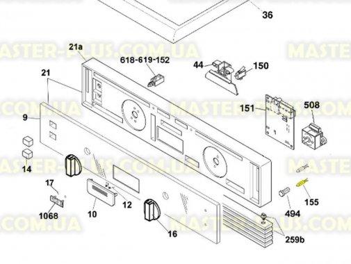 Межевий індикатор (лампочка) Candy 91209510 для пральної машини