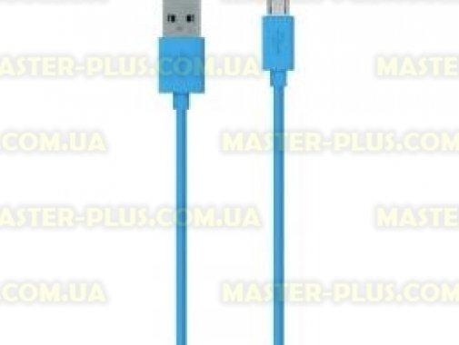 Купить Дата кабель USB 2.0 AM to Micro 5P 2.0m Belkin (F2CU012bt2M-BLU)