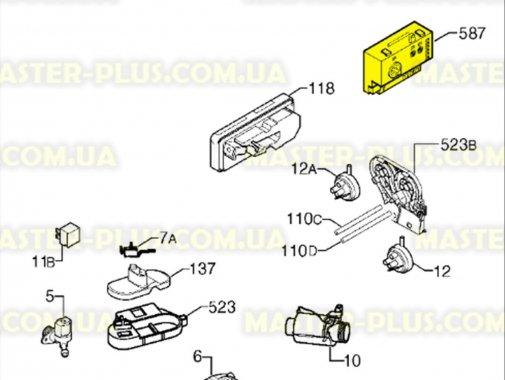 Модуль (плата) Electrolux Zanussi AEG 973911619244016 для стиральной машины