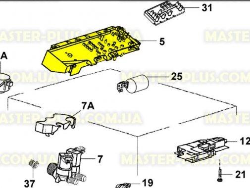 Модуль (плата) Zanussi 973913101231014 для стиральной машины