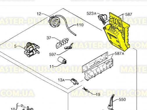 Модуль (плата) Zanussi 973914756516006 для стиральной машины